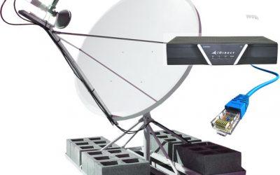 Como funciona el internet satelital