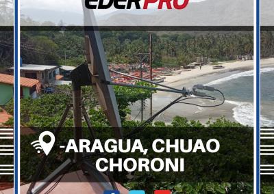 Internet Satelital Chuao, estado aragua