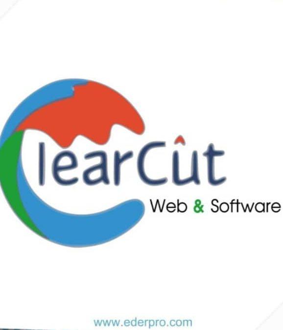 Logo de clear cut mejora
