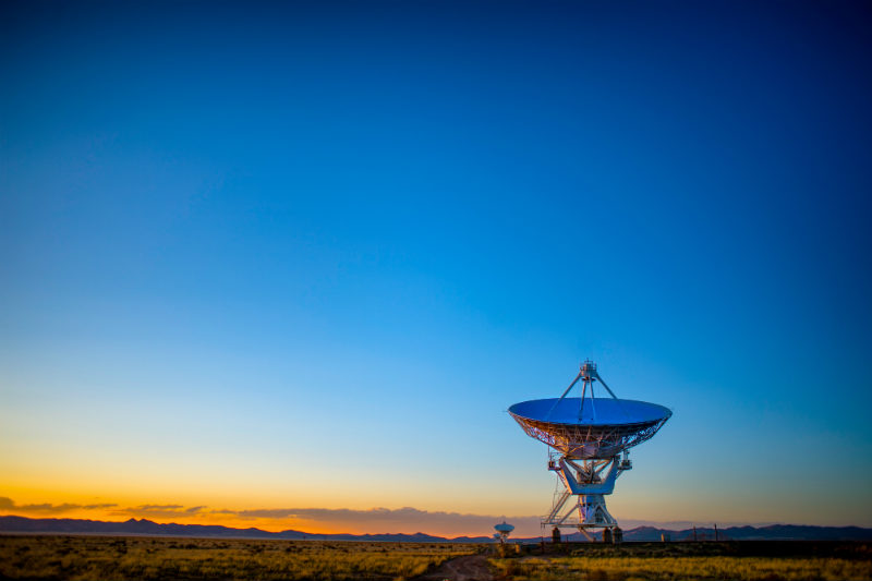 Internet por satélite  está conectando cada vez más.