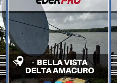 Internet satelital Delta Amacuro