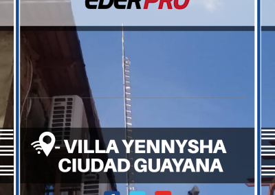 Internet residencial villa yenysha